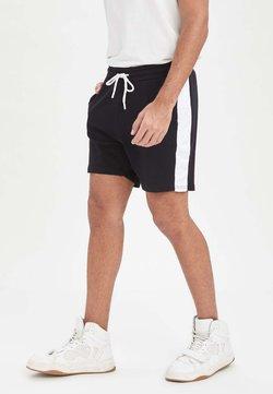 DeFacto - SLIM FIT - Shorts - navy