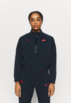 Nike Performance - FRANKREICH MIDLAYER - Klubtrøjer - dark obsidian/university red