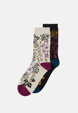 Thought - AMICE SOCKS 2 PACK - Socken - midnight blue/vanilla
