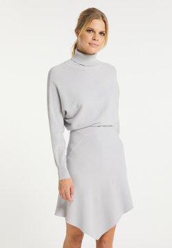 usha - Vestido de punto - silber