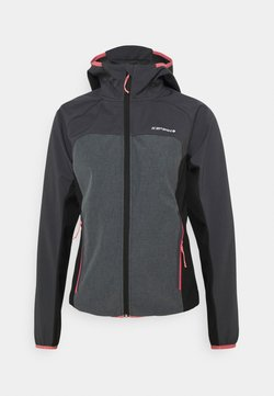 Icepeak - DECORAH - Softshelljacke - granite