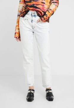CLOSED - PEDAL PUSHER  HIGH WAIST CROPPED LENGTH - Jeans Relaxed Fit - extrem light