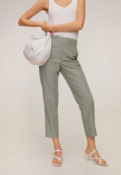 Mango - Pantalon classique - pastellgrün
