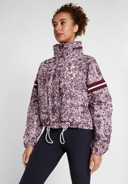 KariTraa - ISTAD LIGHT JACKET - Outdoorjas - light pink/bordeaux