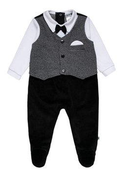 Jacky Baby - WAGENANZUG CLASSIC - Strampler - black