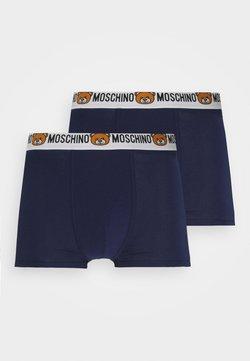Moschino Underwear - TRUNK 2 PACK - Pants - navy blue