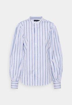 Polo Ralph Lauren - LONG SLEEVE BUTTON FRONT - Koszula - white/blue