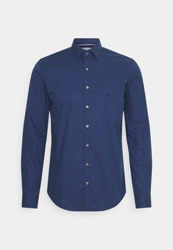 Calvin Klein Tailored - DOT EASY CARE SLIM SHIRT - Businesshemd - navy