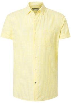 Pierre Cardin - AIRTOUCH  - Hemd - gelb/weiß
