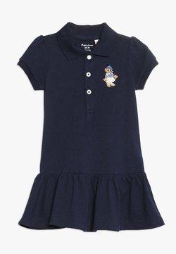 Polo Ralph Lauren - STRETCH BEAR DRESS - Vestido informal - french navy
