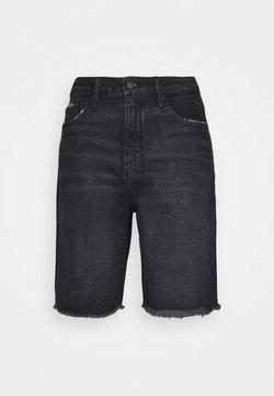 Good American - GOOD BERMUDA - Shorts di jeans - black
