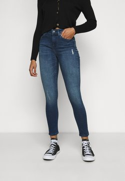 ONLY Petite - ONLBLUSH LIFE HIGH WAIST - Jeans Skinny Fit - medium blue