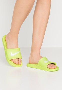 Nike Sportswear - KAWA SHOWER - Badesandale - barely volt/white
