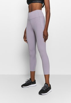 Under Armour - MERIDIAN CROP - Tights - slate purple