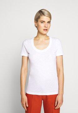 J.CREW - VINTAGE SCOOP - T-shirt basique - white