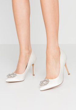 Dorothy Perkins - GLADLY POINTED TRIM COURT - High Heel Pumps - white