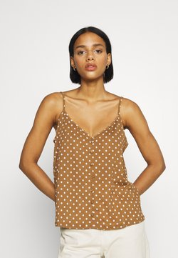 ONLY - ONLPELLA SINGLET - Top - toasted coconut