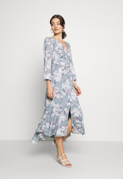 Forever New - FLORAL HIGH-LOW - Maxikjoler - mint