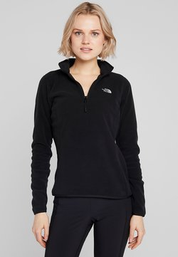 The North Face - GLACIER 1/4 ZIP MONTEREY - Fleecepullover - black
