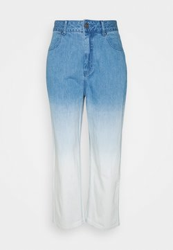 Afends - SHELBY - Jeansy Straight Leg - classic blue