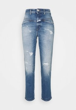 CLOSED - PEDAL PUSHER - Jeansy Straight Leg - mid blue