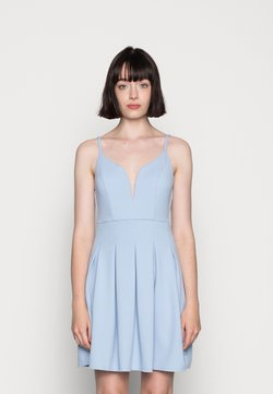 WAL G. - APRIL SKATER DRESS - Jerseykleid - baby blue