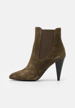 Minelli - High Heel Stiefelette - kaki
