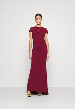 WAL G. - ELLE DRESS - Occasion wear - wine