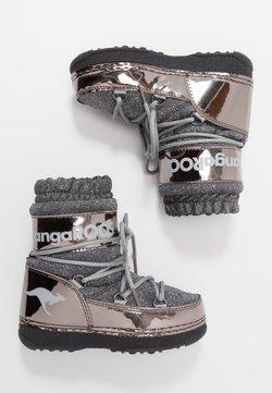 KangaROOS - K-MOON - Snowboot/Winterstiefel - steel grey metallic/vapor grey