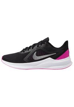 Nike Performance - Zapatillas de running neutras - black/metallic silver/fire pink