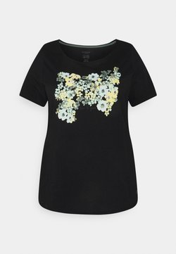 MY TRUE ME TOM TAILOR - FRONT ARTWORK - T-Shirt print - black