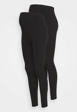 New Look Maternity - 2 PACK - Leggings - black