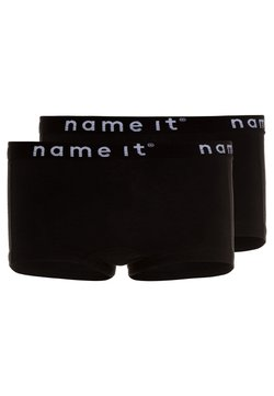 Name it - NKFHIPSTER SOLID 2 PACK - Shorty - black