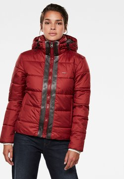 G-Star - MEEFIC HOODED PADDED  - Winterjacke - dry red