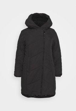 Ragwear Plus - GORDON LONG PLUS - Winter coat - black