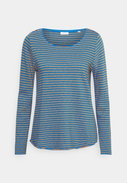 Marc O'Polo DENIM - LONG SLEEVE CREW NECK STRIPED - Langarmshirt - multi/cornflower