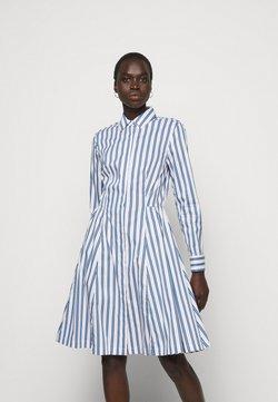 Steffen Schraut - SUMMER DRESS - Blusenkleid - white/blue