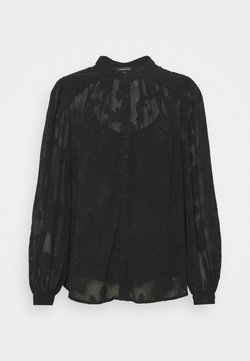 Forever New - BRIELLE BURNOUT BLOUSE - Overhemdblouse - black