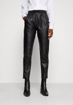 Oakwood - GIFT - Pantalon en cuir - black