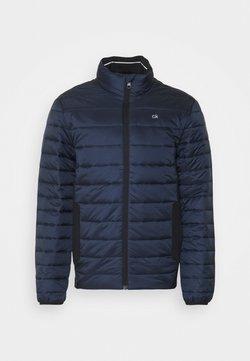 Calvin Klein - LIGHT WEIGHT SIDE LOGO JACKET - Allvädersjacka - blue