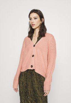 ONLY - ONLLEXI BUTTON CARDIGAN - Gilet - misty rose