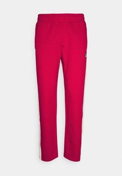 Fila - SETTANTA TRACK PANTS - Jogginghose - true red/blanc de blanc