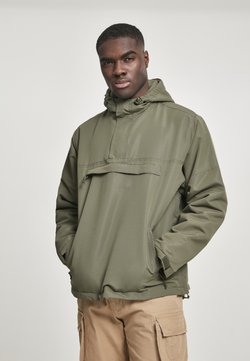 Brandit - Windbreaker - wood camo