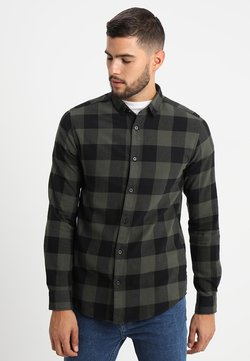 Only & Sons - ONSGUDMUND CHECKED - Hemd - forest night