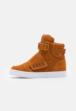 Hummel - STADIL TONAL JR - Sneakers hoog - pumpkin spice