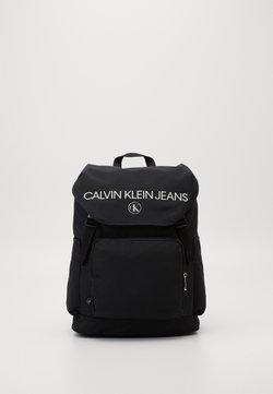 Calvin Klein Jeans - FLAP - Reppu - black