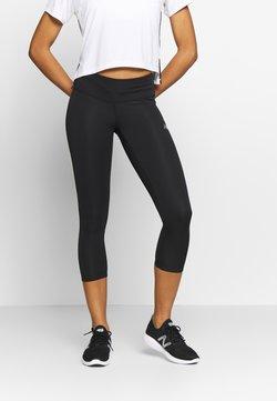 New Balance - ACCLERATE CAPRI - Pantalón 3/4 de deporte - black