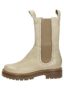 MJUS - Boots à talons - beige