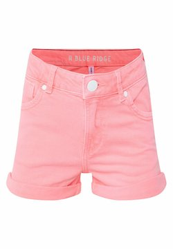 WE Fashion - WE FASHION MEISJES SKINNY FIT DENIMSHORT - Shorts di jeans - pink