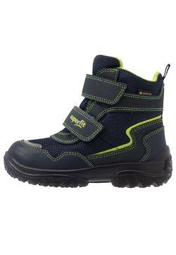 Superfit - SNOWCAT - Snowboot/Winterstiefel - blau/grün